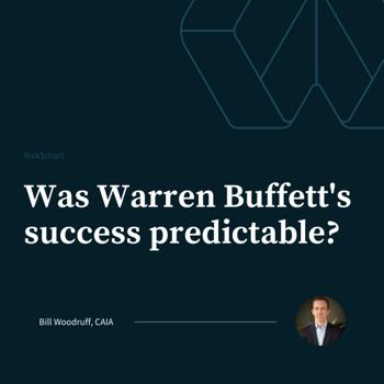 Was Warren Buffett's success predictable?
