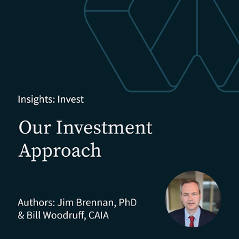 Our Investment Approach