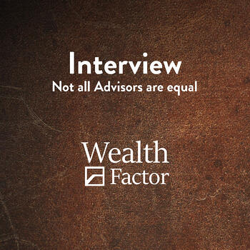 Not all Advisors are Equal