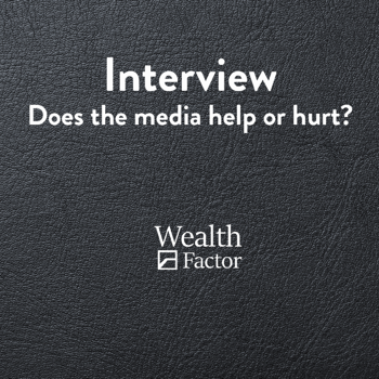 Interview: Does the financial media help or hurt?