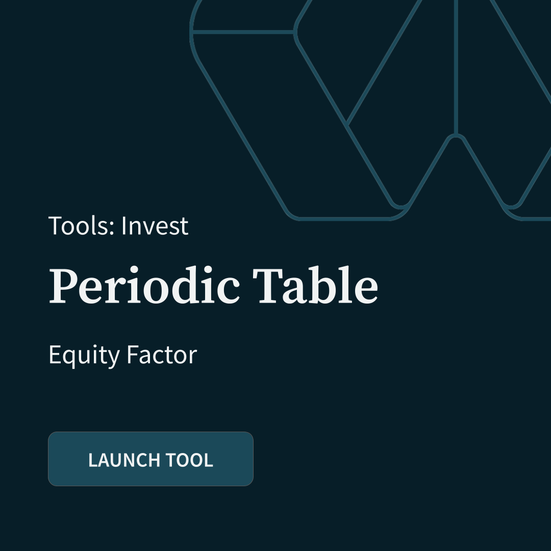 Periodic Table: Equity Factor