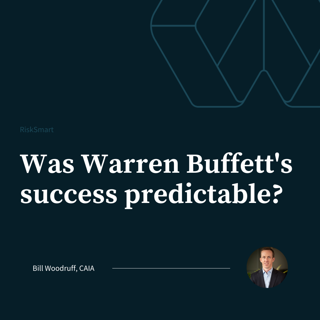 Was Warren Buffett's success predictable?