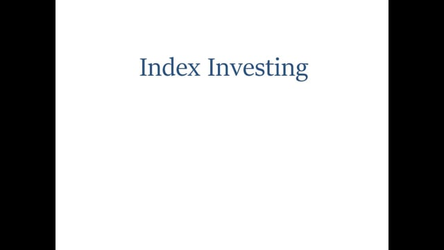 Index Investing Enhanced