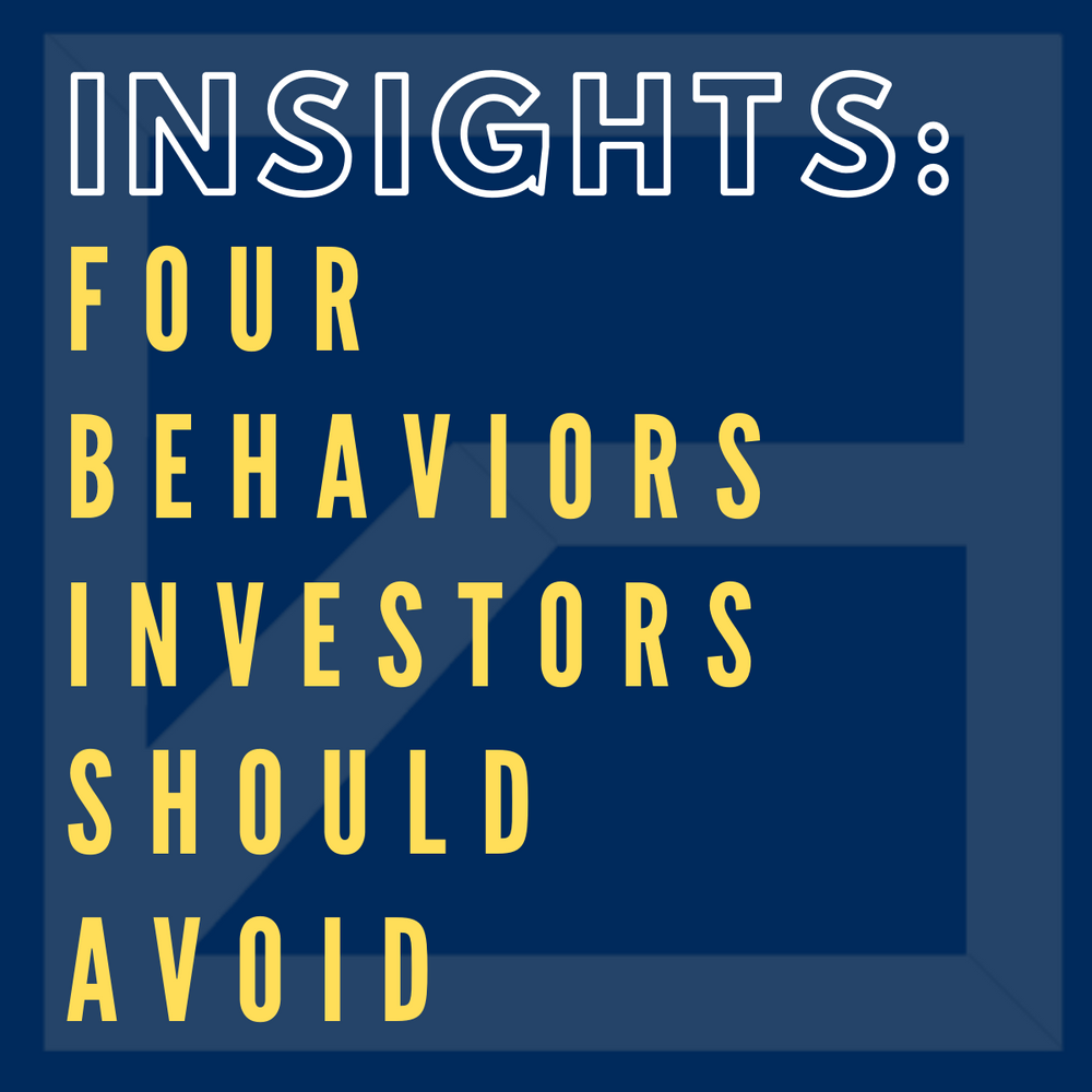 Four Behaviors Successful Investors Avoid